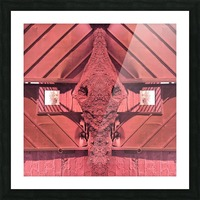 Creature of Red Picture Frame print