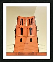 Happy Tower Picture Frame print