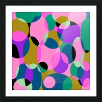 This is a beautiful design with great color, shape, line, texture, space and value.  (50) Picture Frame print