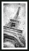 Monochrome Art EIFFEL TOWER  Picture Frame print