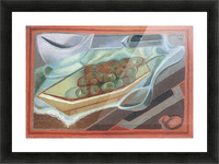 Grapes by Juan Gris Picture Frame print