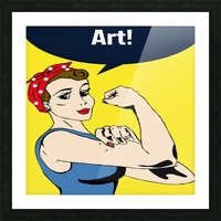 Art Can Do It Picture Frame print