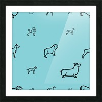 Dog (65) Picture Frame print