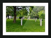 Civil War Memorial 11 Picture Frame print