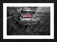 Used Cars... Picture Frame print