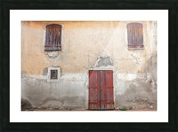 Corsica 12 Picture Frame print