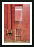 Seeing Red... Picture Frame print