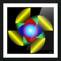 1-The Golden Ratio Picture Frame print