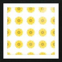 Sunflower (4) Picture Frame print