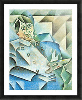 Homage to Pablo Picasso by Juan Gris Picture Frame print