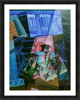 Juan Gris - Still Life before an Open Window Picture Frame print