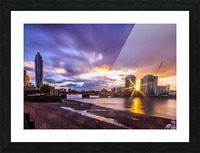 Vauxhall London Picture Frame print