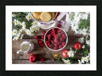 Apples Berries  Picture Frame print