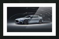 Aston martin rapid Car Picture Frame print