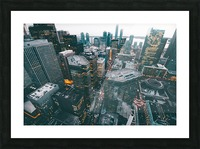 New York Architectural design Picture Frame print
