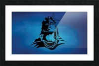 Lord Shiva Picture Frame print