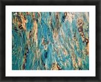 Primordial Sea Picture Frame print