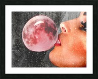Moonalicious Picture Frame print
