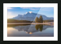 Two jack lake 2018 Picture Frame print