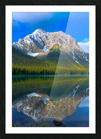 Aosta Reflection 2018 Picture Frame print