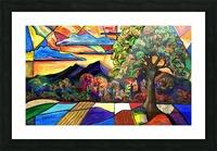 Mt Landscape Picture Frame print
