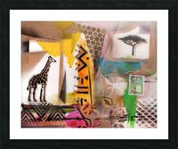 Cultural Remnant - M Picture Frame print