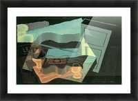 Overlooking the bay by Juan Gris Picture Frame print