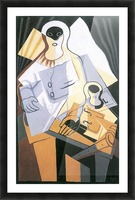 Pierrot -1- by Juan Gris Picture Frame print