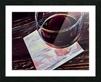Wine Art Picture Frame print
