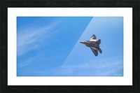 F22 raptor  Picture Frame print