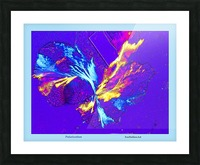 Polarization - Taken With High Powered Microscope Picture Frame print