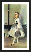 Portrait of Miss Alexander by James Abbot McNeill Whistler Picture Frame print