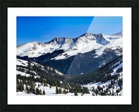 Copper Mountain Picture Frame print