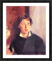 Portrait of Vernon Lee by John Singer Sargent Picture Frame print