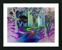 Forest Magic Picture Frame print