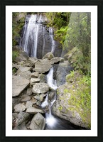 El Junque Waterfall Picture Frame print