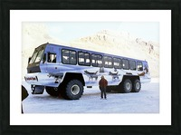 Ice Fields Transportation - Banff Canada Picture Frame print