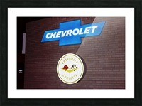 Chevrolet Corvette Bowling Green Kentucky Picture Frame print