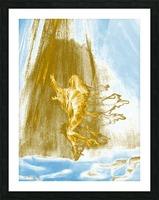 Ascending Angel Picture Frame print