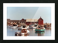 rockport retouched Picture Frame print