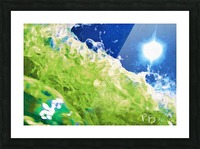 Sun & Surf Picture Frame print