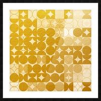 Geometric XIX v2 Picture Frame print