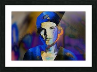 Avicii  Tim Bergling Abstract Portrait Picture Frame print