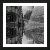 Paris - Street  2018 Picture Frame print