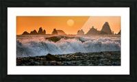Sea Stacks at Rialto Beach Picture Frame print