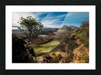 landscape quairaing scotland Picture Frame print