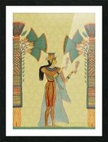 egyptian design man artifact royal Picture Frame print