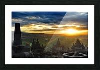 indonesia java landscape borobudur Picture Frame print