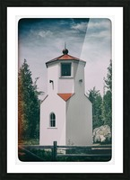Lighthouse Picture Frame print
