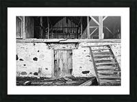 Barn Steps Picture Frame print